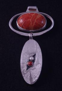 matching pendant/earring set
